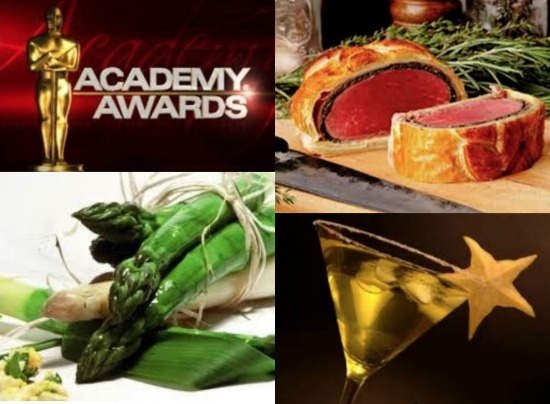 Oscar Party Menu from CT Bites