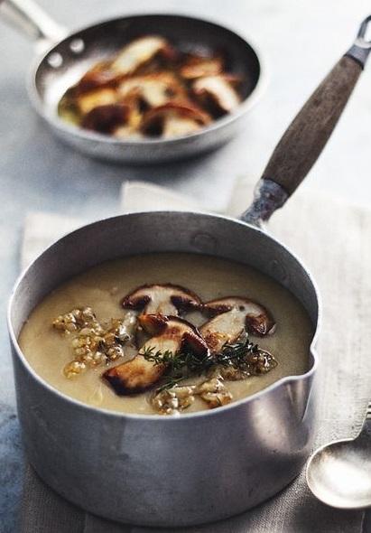 Oh-So Easy Mushroom Soup