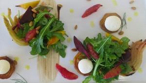 Blood Orange, Roasted Fennel and Beet Salad