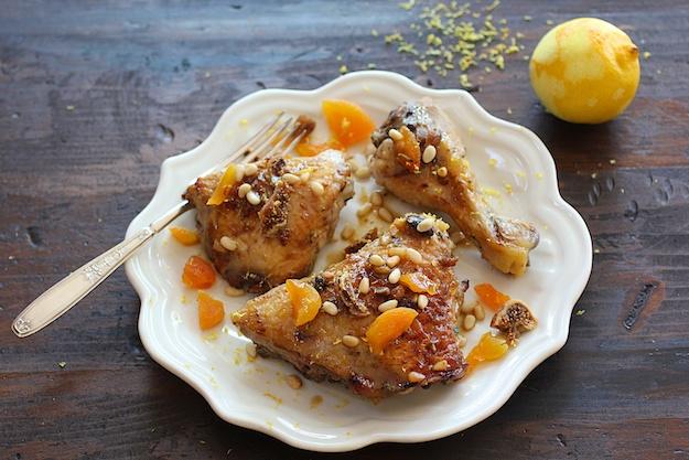 Chicken Marrakesh for a Crowd
