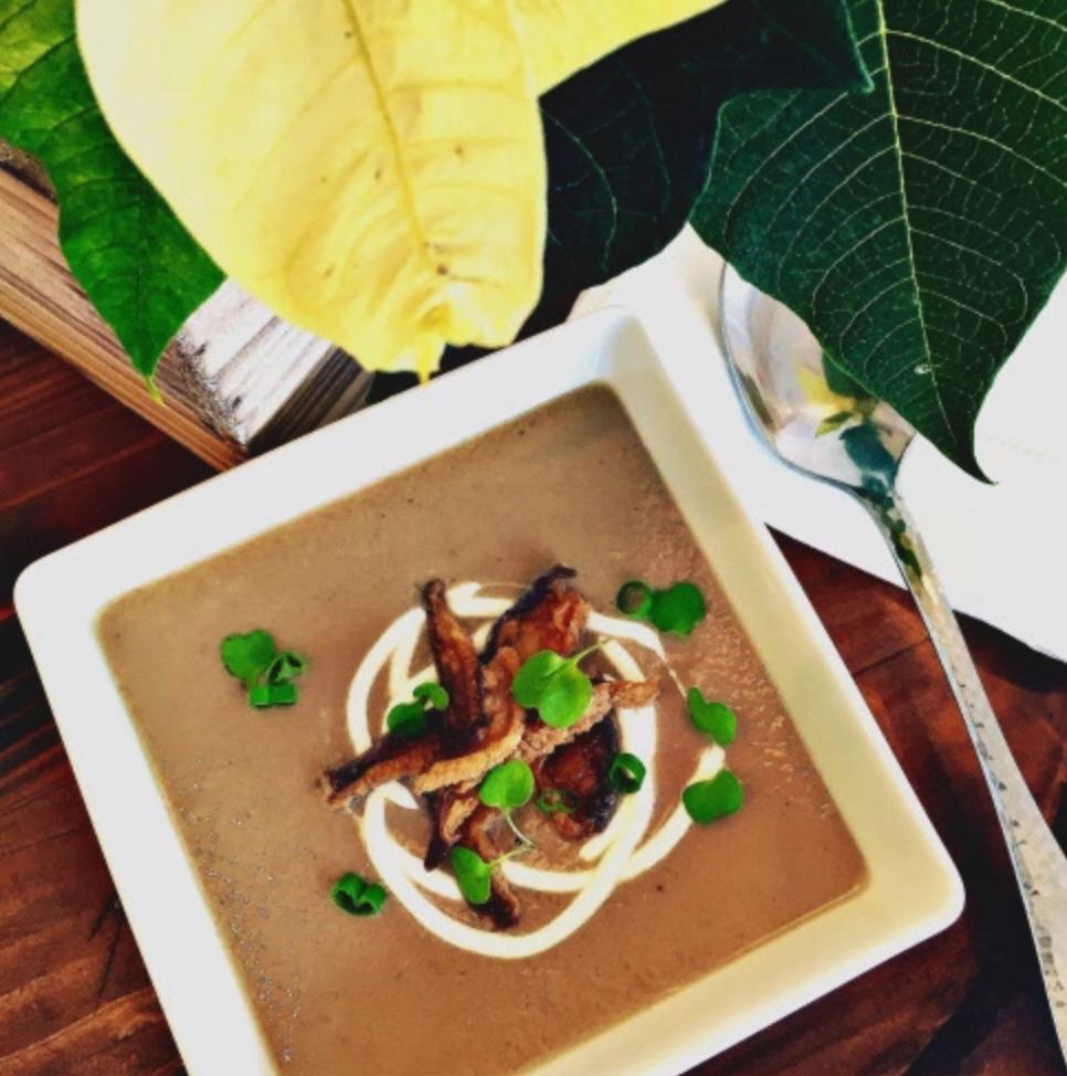 Warm Up! Wild Mushroom Soup with Sherry
