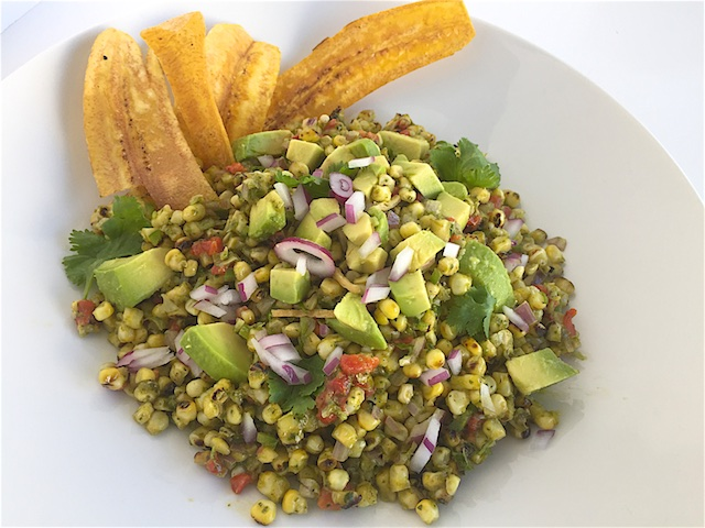 Do Ahead Grilled Corn Avocado Salad