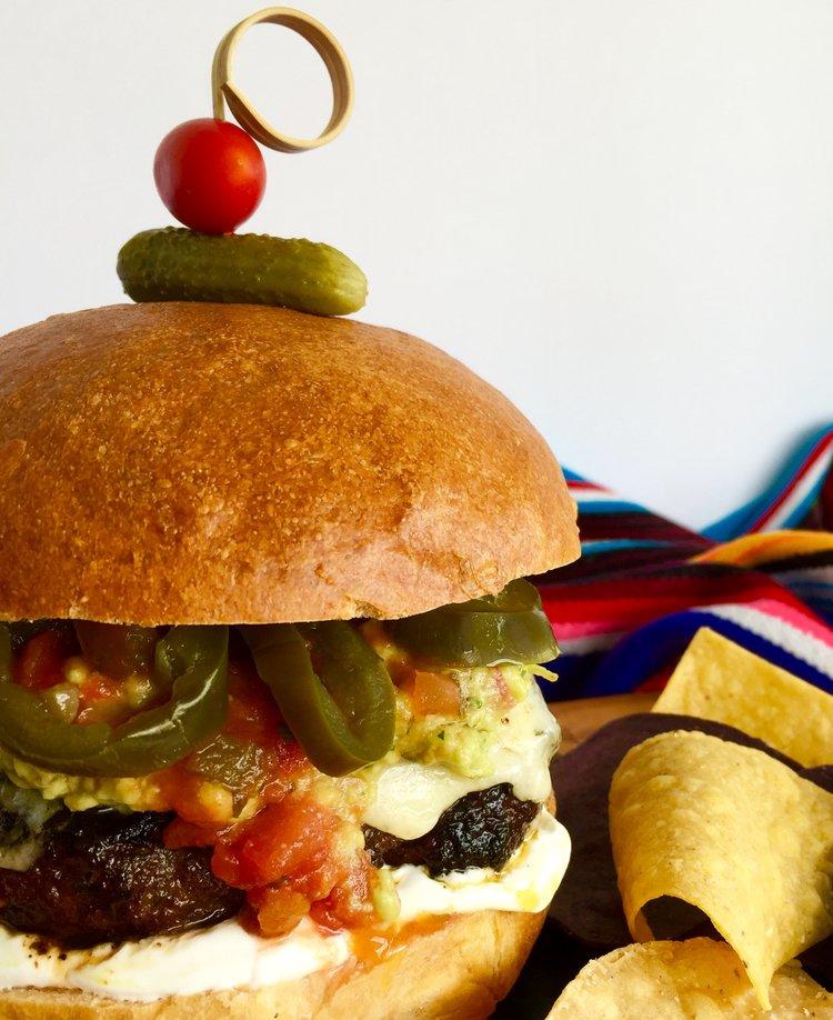 Macho Nacho Burgers!